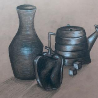 Kraft Drawing