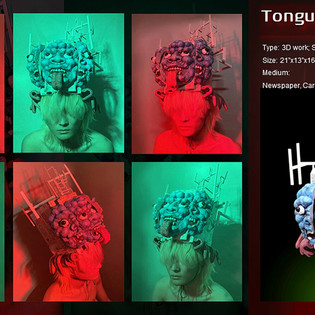 Tongue Mixed Media