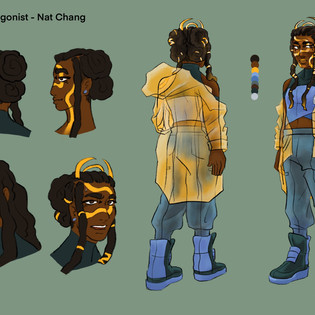 Fisher Character Design 1