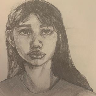 annabelle-torres-grade-10-self-portrait