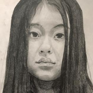 jessica-sheng-grade-10-self-portraits
