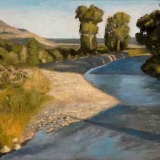 Oil Paint Landscape Study
