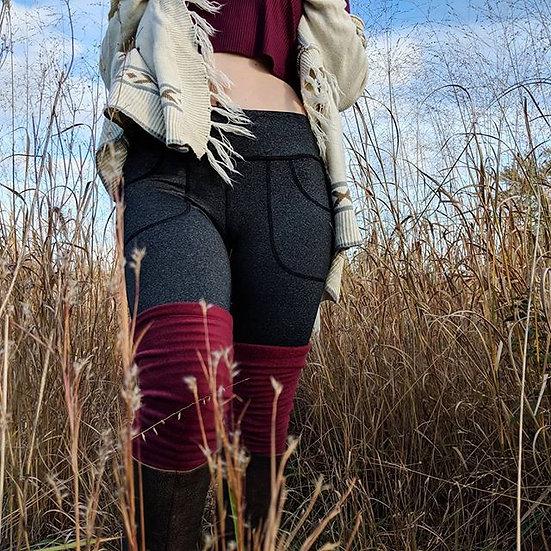 Specialty Size | Elastic Fleece Leg Warmers