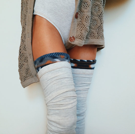 Wholesale Natural Fitting Leg Warmers