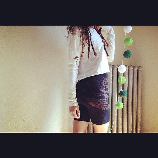 Birds of Life Biker Shorts [L]