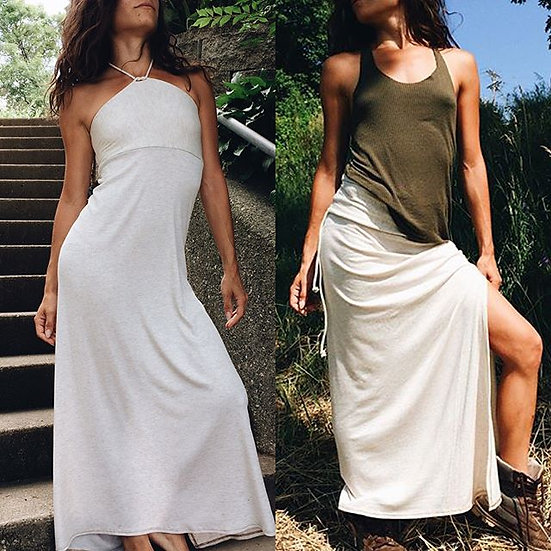 Convertible Maxi Skirt Dress