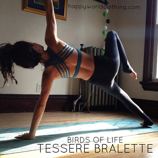 Turquoise Birds of Life Tessere Bralette