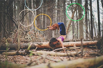Breezi gHwc Gnar Hoops Happy World Birds of Life bralette yoga bra hula hooping apparel galaxy mermaid morph hula hoop colored polypro hoops handstand hooping forest nature goddess