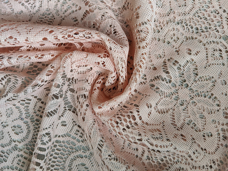 Peach Flowers Lace | You Pick