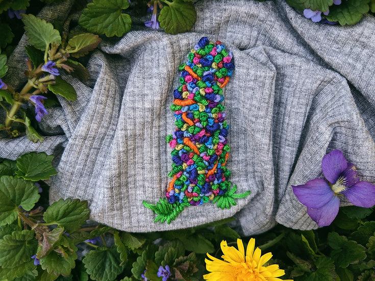 Blueberry Rainbow Kush High Waist