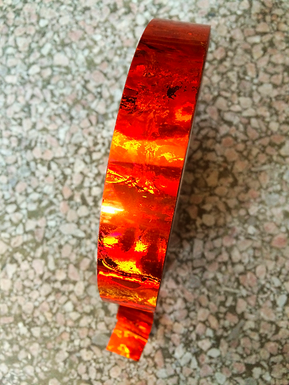 Orange Rainbow Nebula Tape