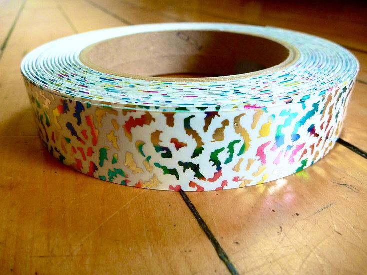 Rainbow Cheetah Tape