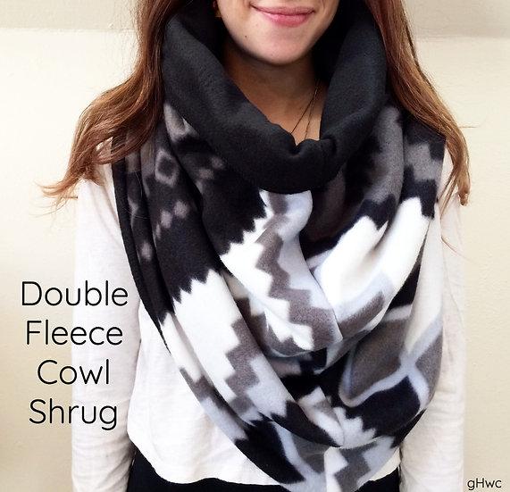 Fleece/Fleece 4-in-1 Cowl Shrug
