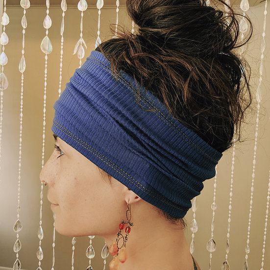 Ribbed Knit Wide Headband