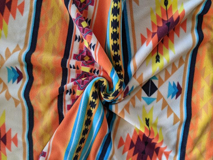 Yellow Tribal Aztec Fleece | You Pick