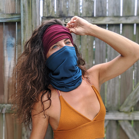 Cotton Mask/ Headband