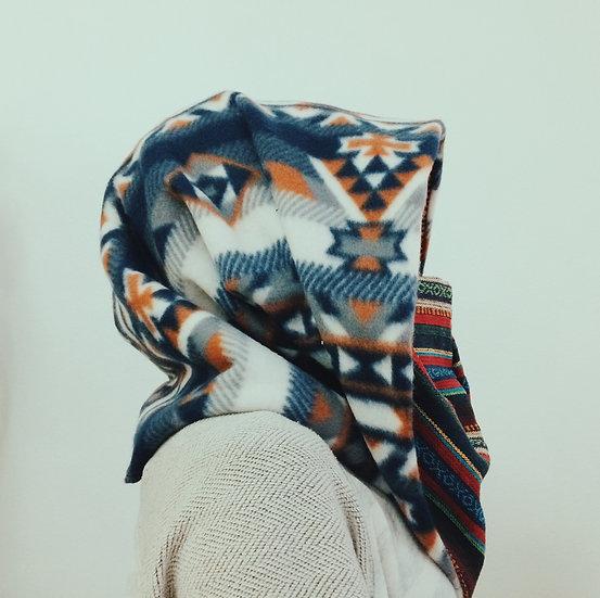 Nepalese/Aztec Cowl Hood