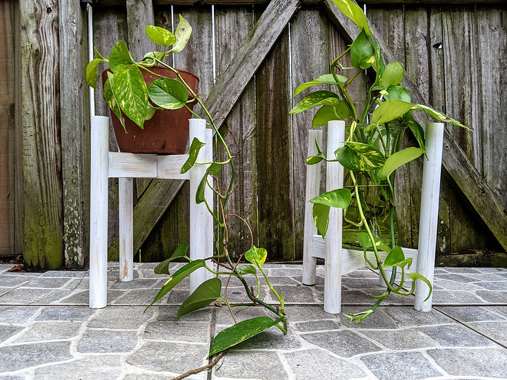 """Small Planter Stands 