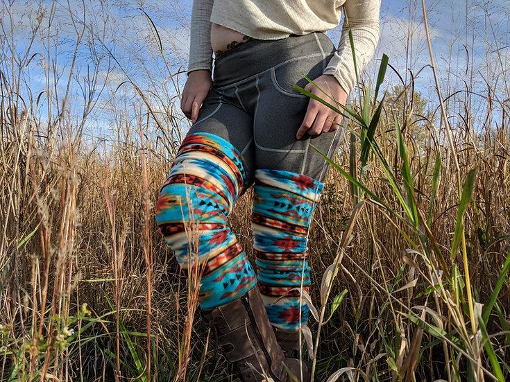 Tribal Aztec Leg Warmers