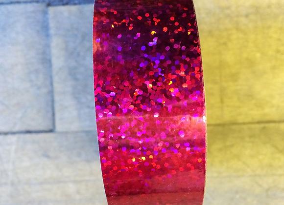 "1"" Pink Glitter"