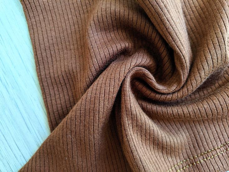 Natural Brown Rib Knit | You Pick