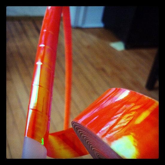 Orange Sunrise Morph Hoop