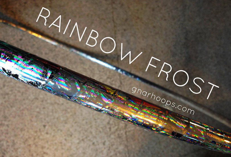 Rainbow Frost Hoop