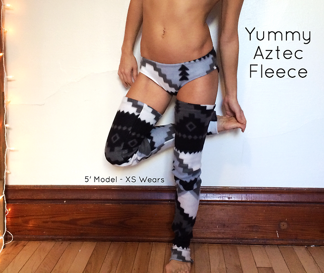 Black & White Aztec Panty