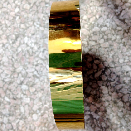 "1"" Gold Mirror Tape"