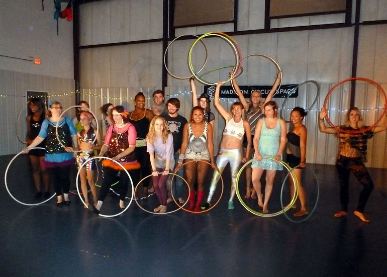 Adult Hula Hooping | Wednesdays