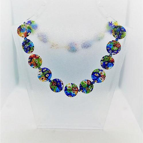 Venetain Necklace/ Millefiori