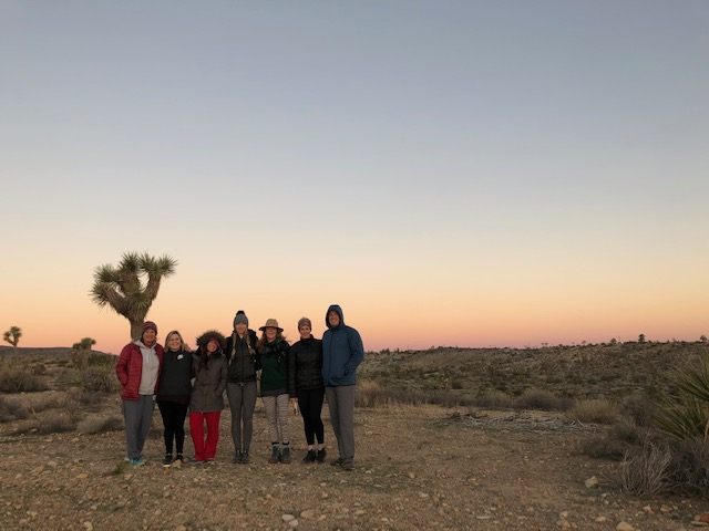 On retreat in Joshua Tree, CA.
