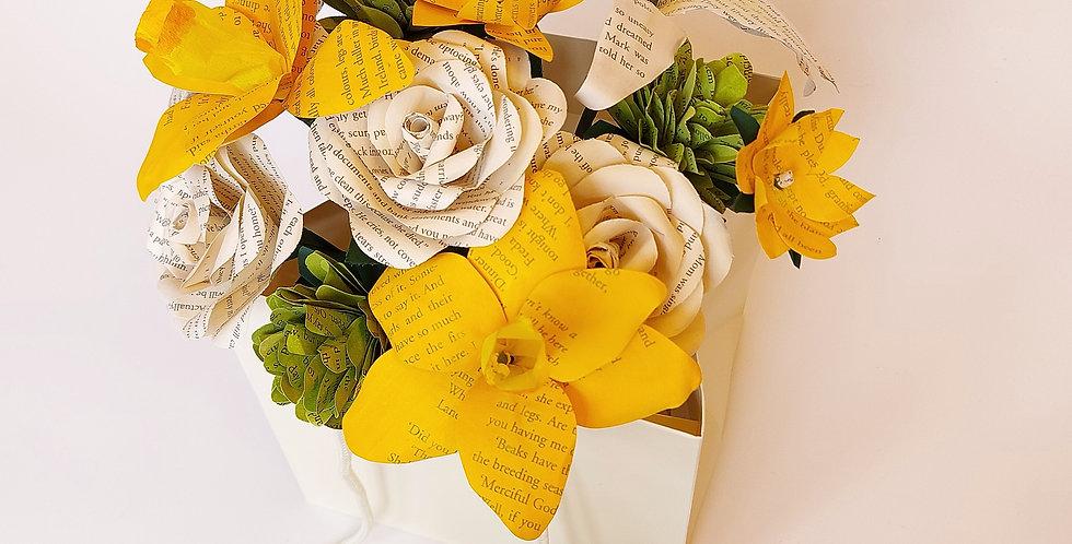 Spring flower gift bag