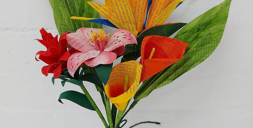 Tropical summer bouquet