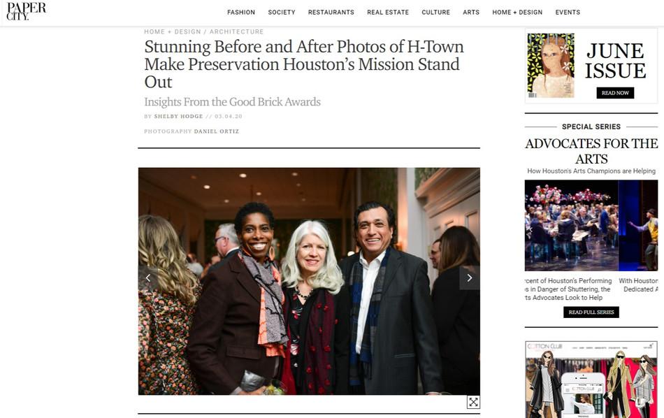 Old Growth Ventures Receives Prestigious Preservation Award for Sixth Ward Restoration