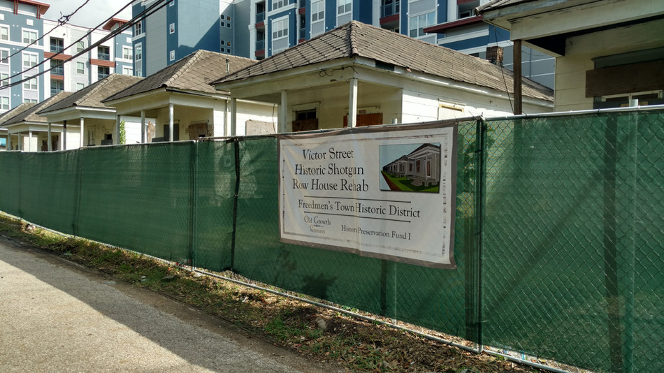 Old Growth Ventures Announces Victor Street Historic Shotgun Row House Rehabilitation Project