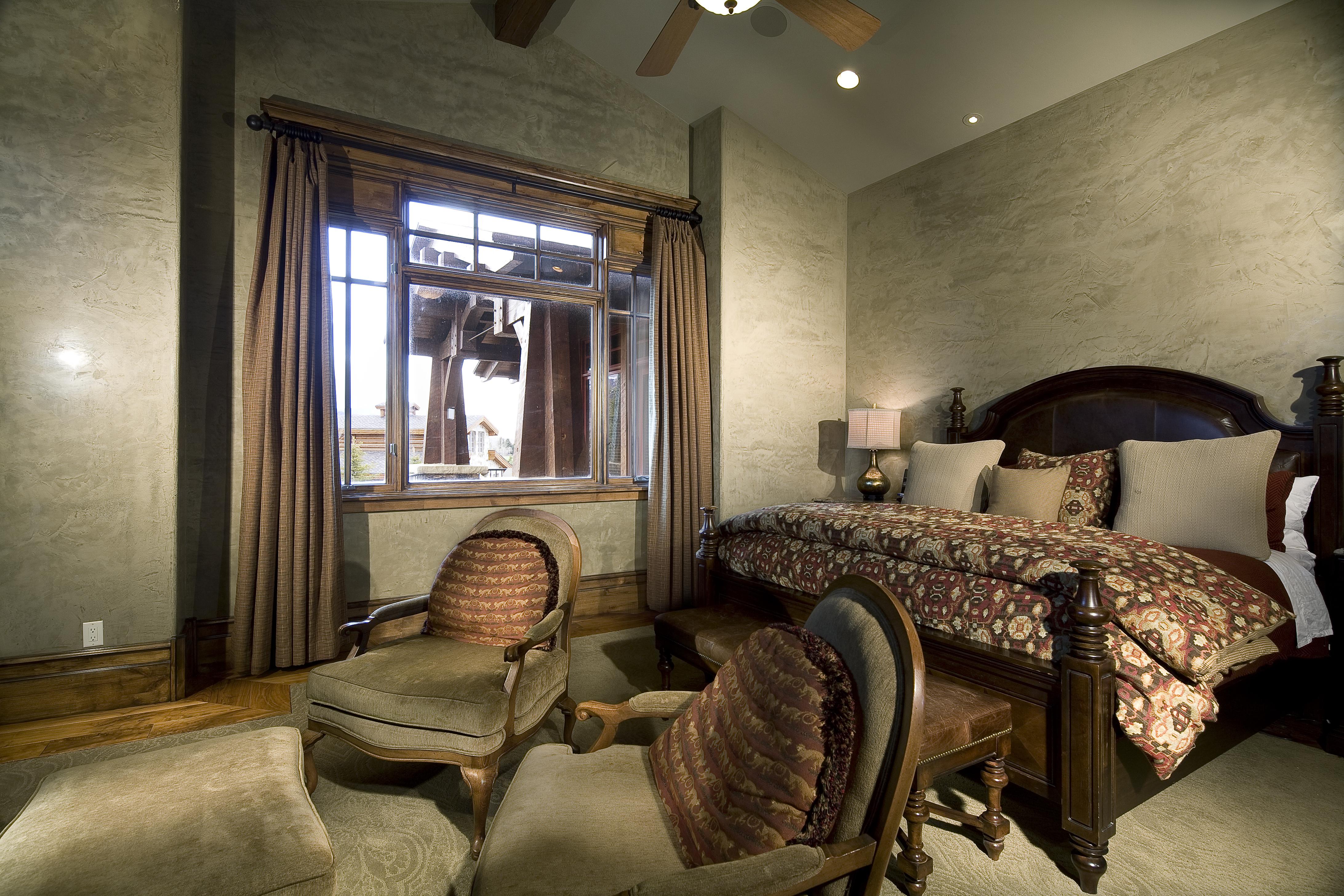 Quarry Mountain Master Bedroom
