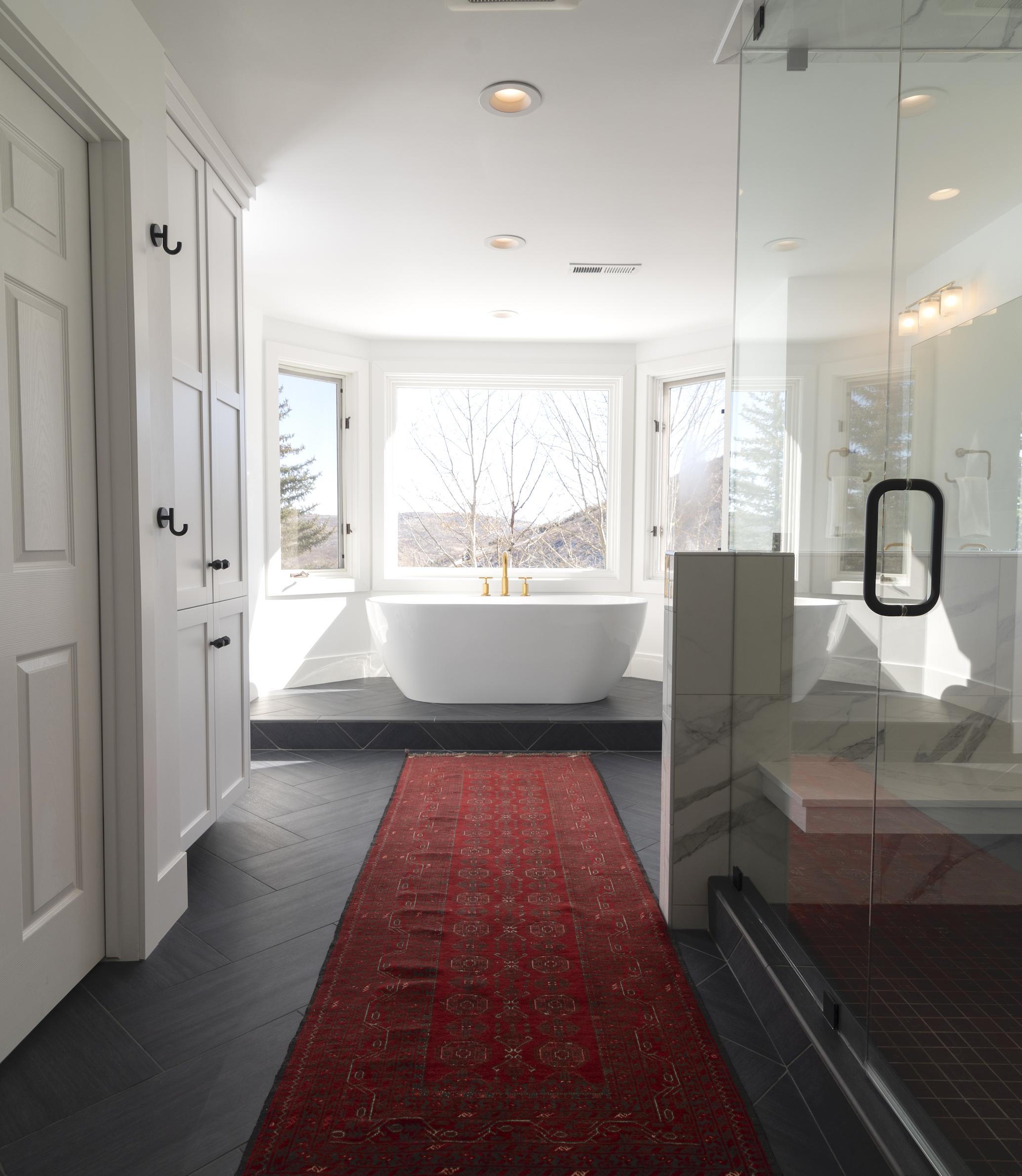 Master Bath smaller