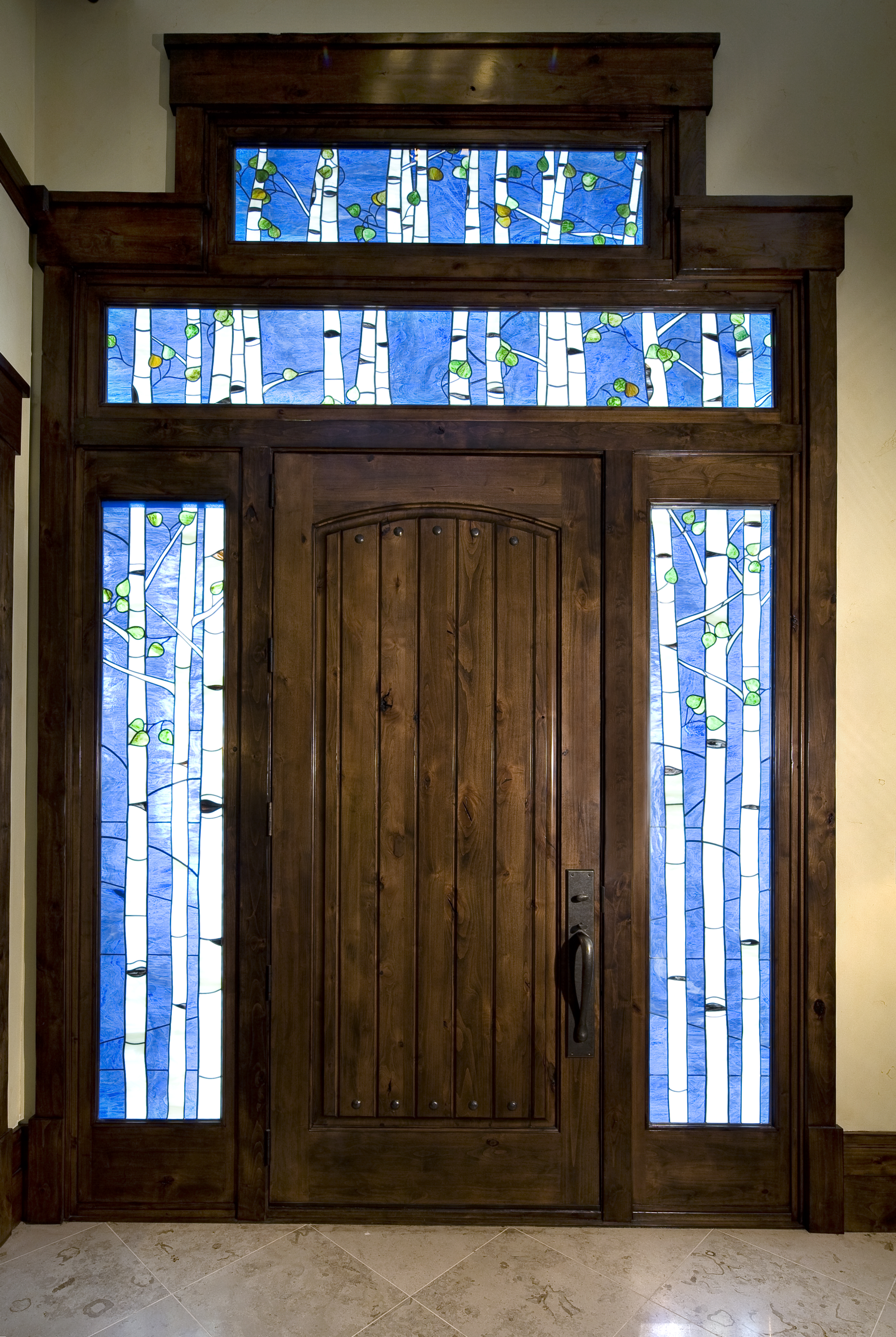 Stevenson Front Door