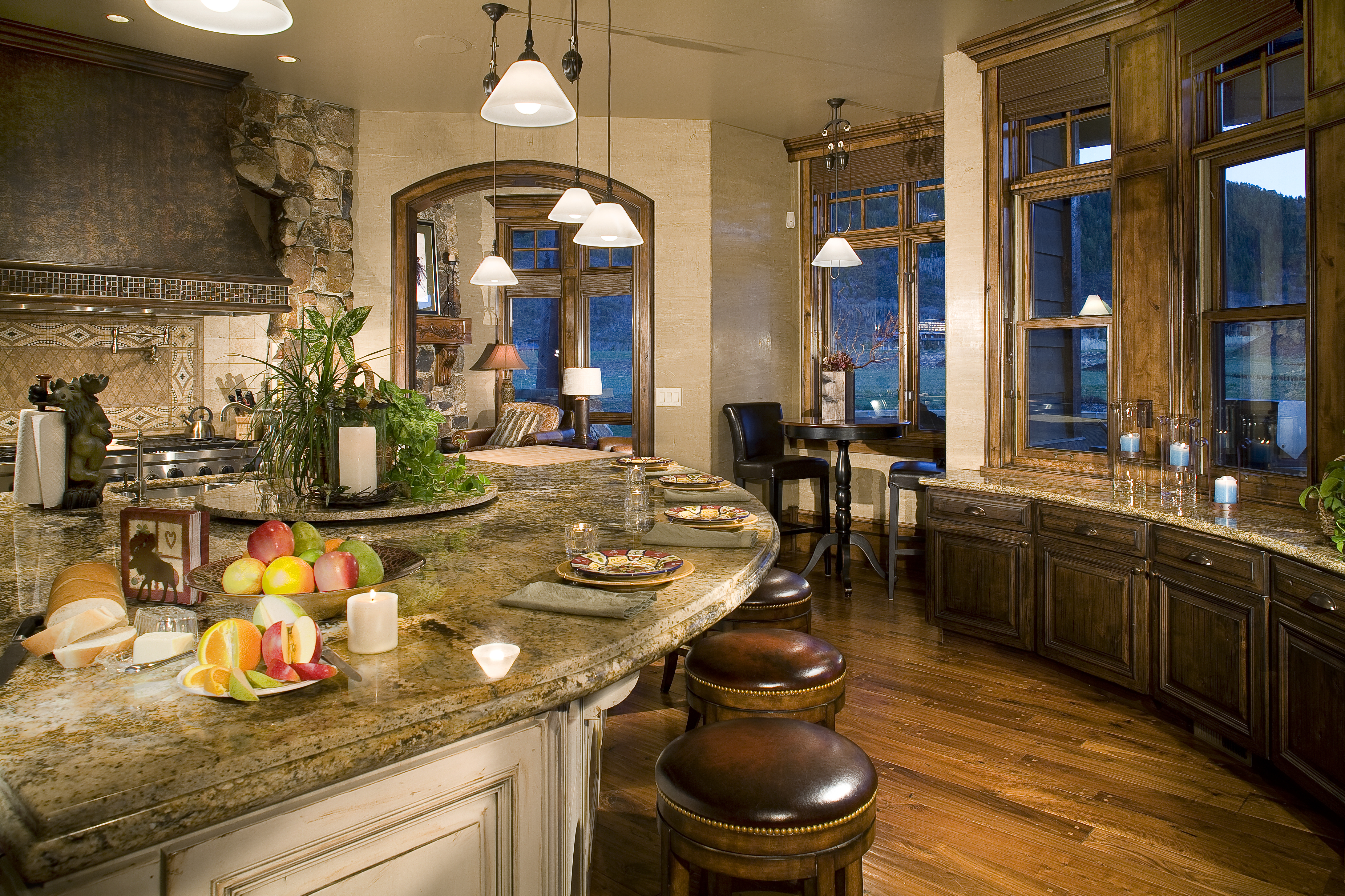 Quarry Mountain Kitchen