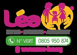 Léa logo vectorisé ® + site web + Tél