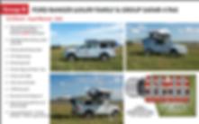 Self Drive Ford Ranger 4x4 safari camper Namibia, Botswana