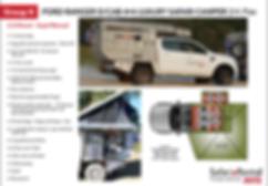 self drive rental 4x4 luxury camper Botswana and Namibia