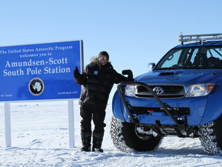 Drive to the South Pole!