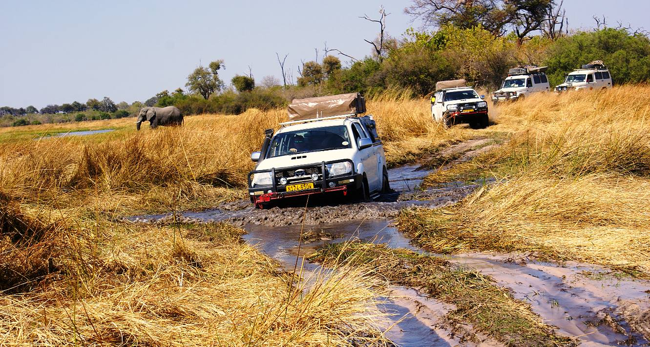Okavango Delta self drive adventure