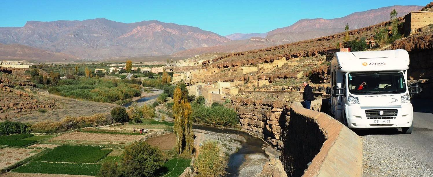 Morocco Motor home Adventure