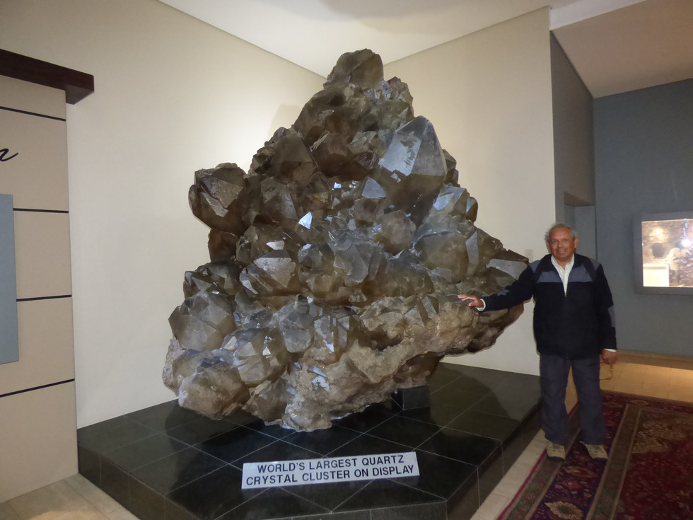 2019 May 21- Namibia-Swapokmund (7) Crystal Gallery