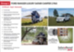 Self Drive 4x4 rental Namibia Botswana 2 passengers