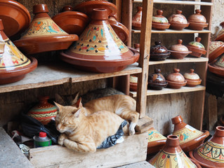 Moroccan Tagine from Kasbah Telouet