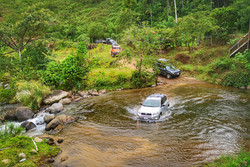 River Crossing in Costa Rica